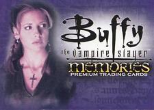 BUFFY the Vampire Slayer Memories Premium trading cards promo card B-1