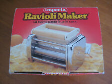 Imperia Ravioli Maker ~ Pasta Machine Attachment ~ Made in Italy ( excellent )