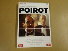 2-DISC DVD BOX / AGATHA CHRISTIE'S POIROT - HICKORY DICKORY DOCK  ...