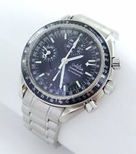 Omega Speedmaster Chronograph Automatic Men's Watch Steel Complete Calendar