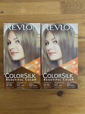 2 X Revlon Colorsilk 3D Hair Color Gel # 60 Dark Ash Blonde