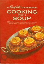 1960s A Campbell Cookbook Cooking With Soup 608 Skillet Dishes Casseroles Stews