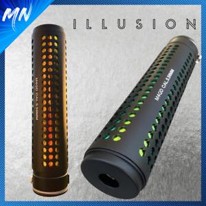 MK2 Illusion Airsoft Mock Suppressor   QD & Full Metal
