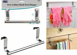 Kitchen Cabinet Door Tea Hand Towel Rail Holder Hanger Storage 23cm New