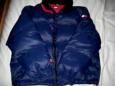 TOMMY HILFIGER MULTI LOGO WATER & COLD STOP DOWN WINTER SAILING PUFFER JACKET-XL