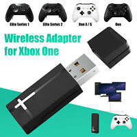 USB Wireless Receiver Adapter Gaming for XBOX One Controller to PC Win 10 8 7 US