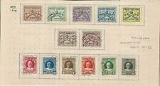 Vatican City, Postage Stamp, #1-13 Used, 1929, DKZ