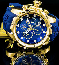 Invicta Venom Gen II Sea Dragon Swiss Chronograph Blue MOP 18K Gold Plated Watch