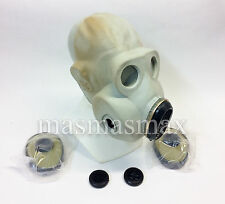 soviet russian gray gas mask PBF EO-19 size 1 SMALL