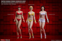 "TBLeague 1/12 Phicen Female Body Head Model Seamless 6"" Action Figure"