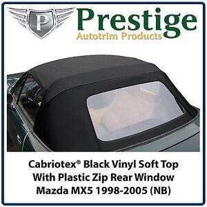 Mazda MX5 MX-5 MK2 (NB) Soft Top Roof Roofs 1998-2005