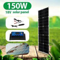 Off Grid Complete Solar Panel Kit Inverter Controller Generator Power Station