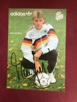 Autogramm MANFRED BINZ-DFB Nationalmannschaft-Eintracht Frankfurt-adidas-AK