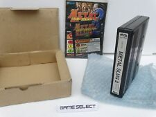 METAL SLUG 2 II NEO GEO MVS NEOGEO ARCADE ORIGINALE SNK BOX KIT SERIAL MATCH