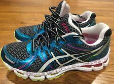 Asics Gel Kayano 19 Women's sz 8.5 Dynamic Duomax Pink Running Sneaker T392N