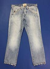 Energie jeans uomo slim strappi destroyed w31 tg 44 45 blu denim boyfriend T3194