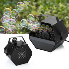 Electric Bubble Blower Machine Maker DJ Disco Club Children Kids Party Wedding K