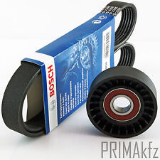 Bosch 6pk1050 V-Ribbed Belts + Tension Pulley Audi A3 Skoda VW Seat 1.9 2.0 Tdi