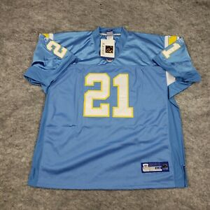NEW Reebok Tomlinson 21 San Diego Chargers On Field Jersey Mens 54 NFL Adult