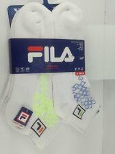 Men's FILA Athletic Socks - 6 PACK - $36 MSRP - 30% off