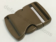 "ITW NEXUS 2"" TSR 200 Side Release Single Adjust Buckle COYOTE"