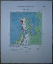 1891 Perron map COLON, PANAMA (#123)