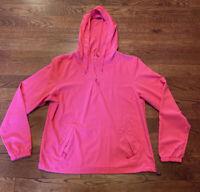 Cabela's Women's 4Most Pink Pullover Jacket Size Large Windbreaker Hiking UPF 30