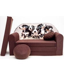 Spielsofa 7K Kindercouch 3in1 Doppelsofa Minisofa Kinder Sofa Couch gemütlich