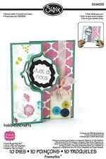 SIZZIX FRAMELITS CUTTING DIE SET 559633 STEPHANIE BARNARD CARD REGAL FLIP ITS