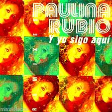 CDS - Paulina Rubio - Y Yo Sigo Aquí (5 Track Rmxs) SPANISH EDIT 2001, SEALED