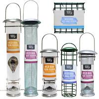 Wild bird feeder bundle deals - seed nut fatball & suet cake - Natures Market