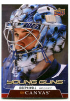 2020-21 Upper Deck Young Guns Canvas Josoph Woll Card #C222 Toronto Maple Leafs