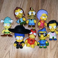 Simpsons Kidrobot Figures Lot Of 8