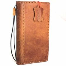 genuine leather Case for apple iphone x book wallet handmade Rustic cover luxury