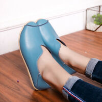 US4.5-11 Women's Comfort Driving Shoes Moccasins Flats Loafers Anti-skidding