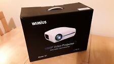 Wimius S1 - Full HD 1080p Projector - NEW
