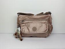 Kipling Syro Crossbody Bag HB6140 Rose Gold Metallic