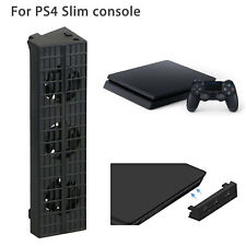 Slim Cooling Fan Cooler For PlayStation 4 PS4 Slim Game Console Black