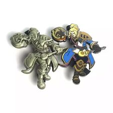 Blizzcon 2017 Blizzard Series 4 Pin GOLD + Colored Set Anduin World of Warcraft