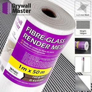 Fibre Glass Rendering Render Mesh DM22415 50sqm 160g/m2 4x4 Drywall Master