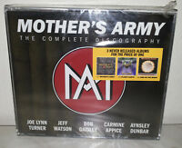 3 CD MOTHER'S ARMY - THE COMPLETE DISCOGRAPHY - NUOVO NEW