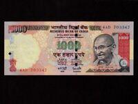 India:P-94c,1000 Rupees,2000 * Gandhi * UNC *