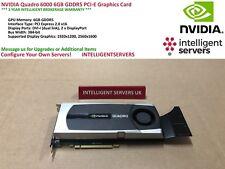 NVIDIA Quadro 6000 6GB GDDR5 PCI-E Graphics Card