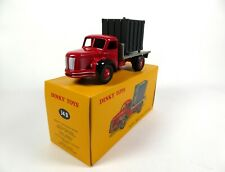 Camion Plateau Berliet avec Container - DINKY TOYS Voiture miniature MB205