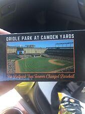 Orioles Camden Yards Stadium Giveaway