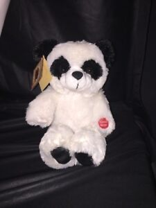 Chantilly Lane Animated Toy Roly Poly Panda Stuffed Animal Sings Sound Motion