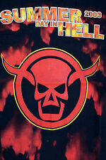A SUMMER DAY IN HELL 2003 t shirt Unisex Black Cotton S SMALL BOLOGNA 2003 LOOK