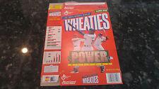 1998 Power Hitters Edition McGwire Griffey Martinez Wheaties Flat Box