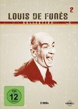 LOUIS DE FUNES  Rabbi Jacob DAS SCHLITZOHR Geizkragen 3 DVD Box Collection 2 NEU