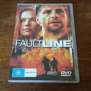 Faultline DVD R4 Like New! FREE POST Doug Savant